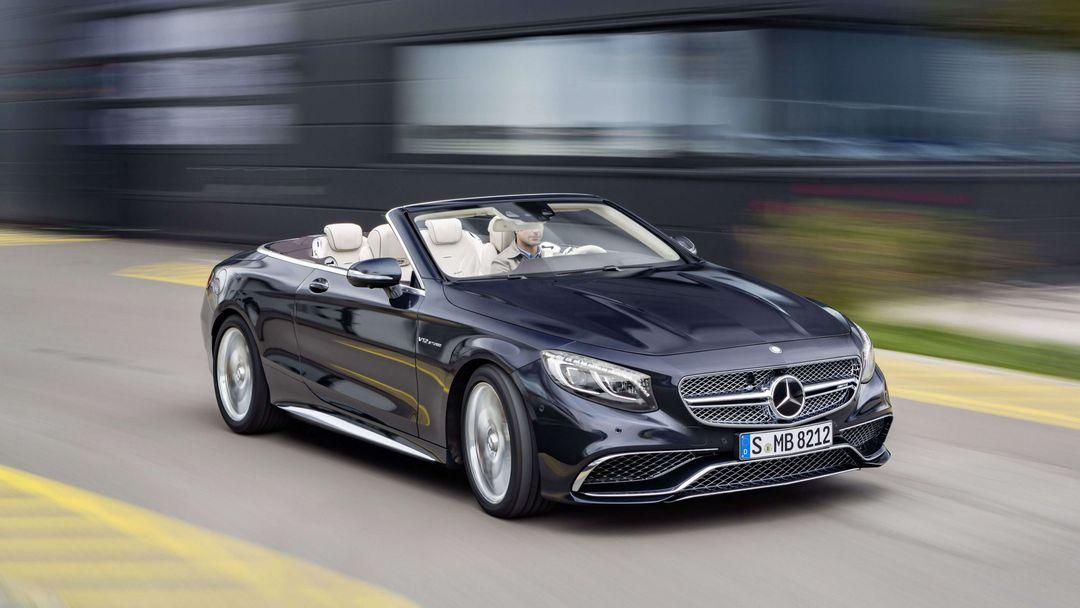 Mercedes-Benz S AMG kabriolet