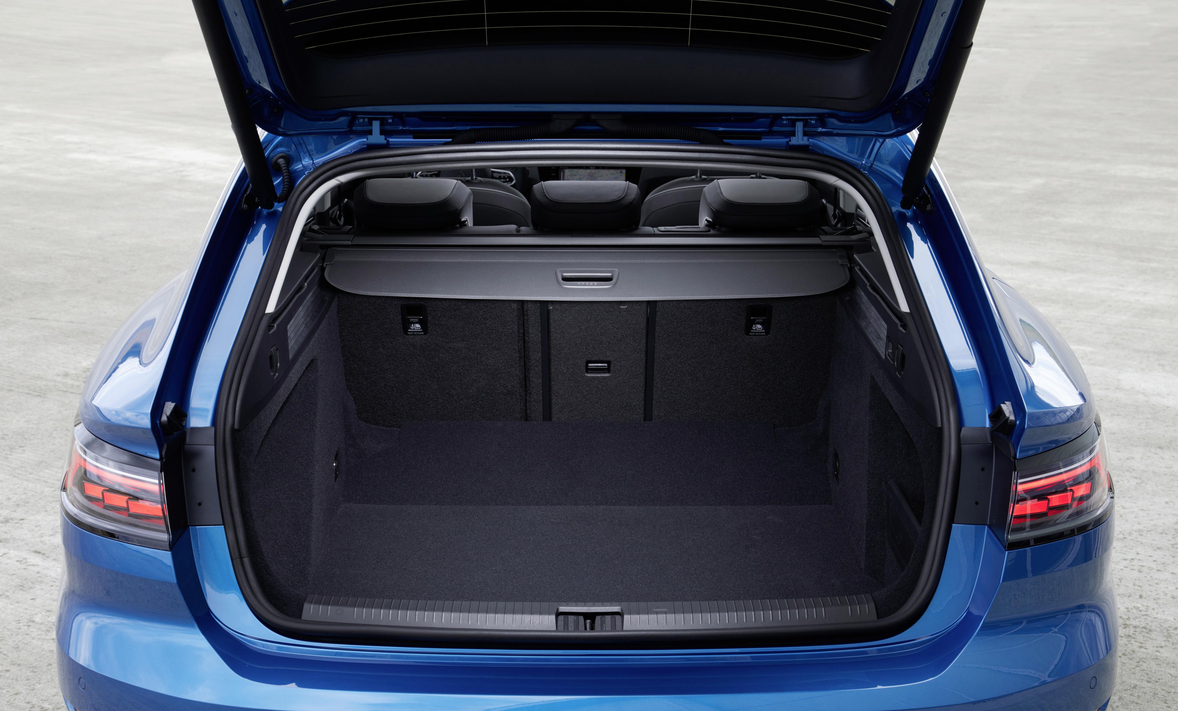 Volkswagen Arteon Shooting Brake objem kufru