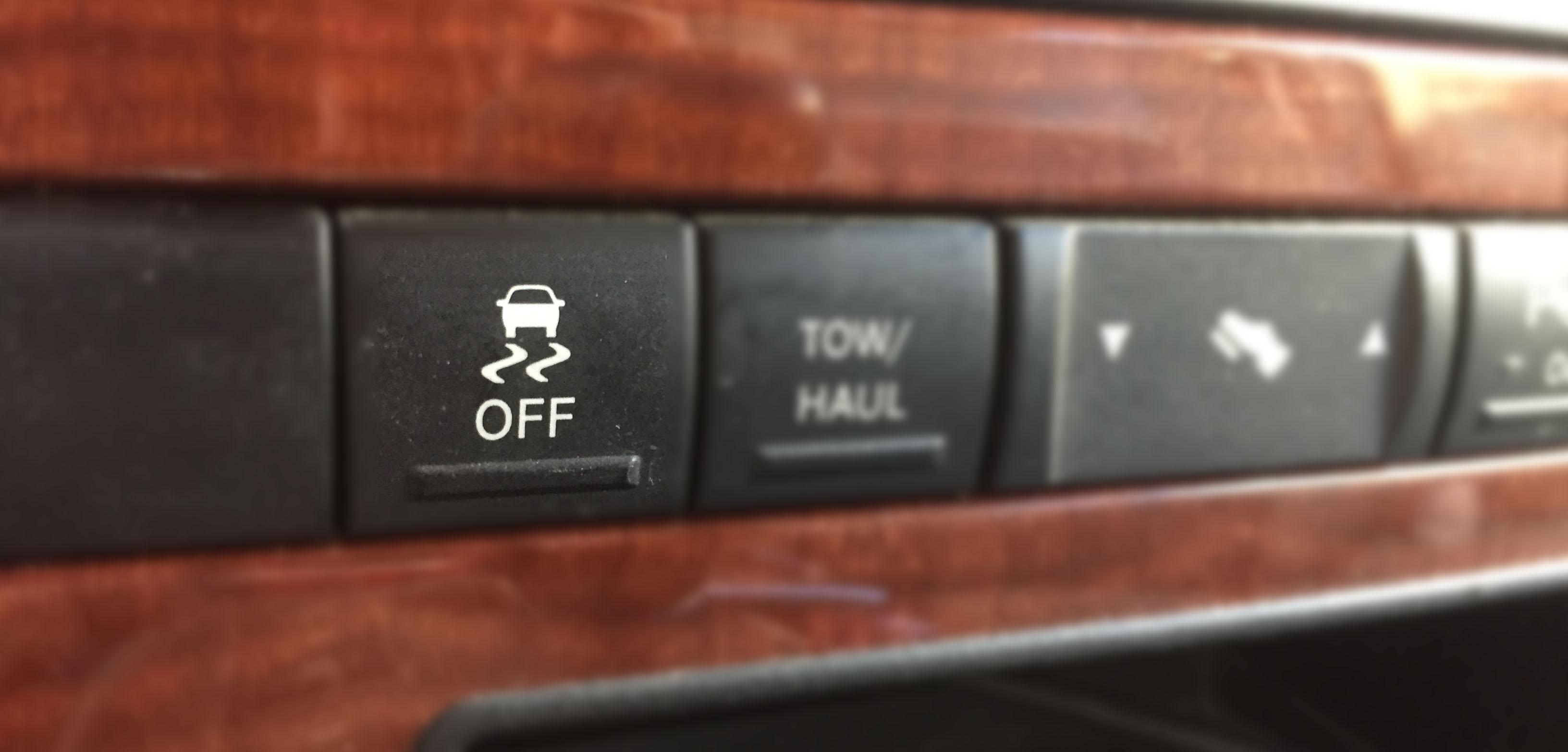vypnutí ESP u Jeepu Grand Cherokee