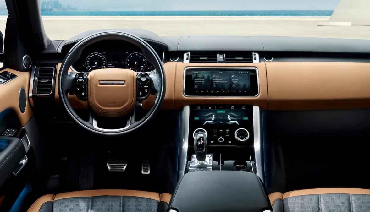 Interiér Range Rover 2018
