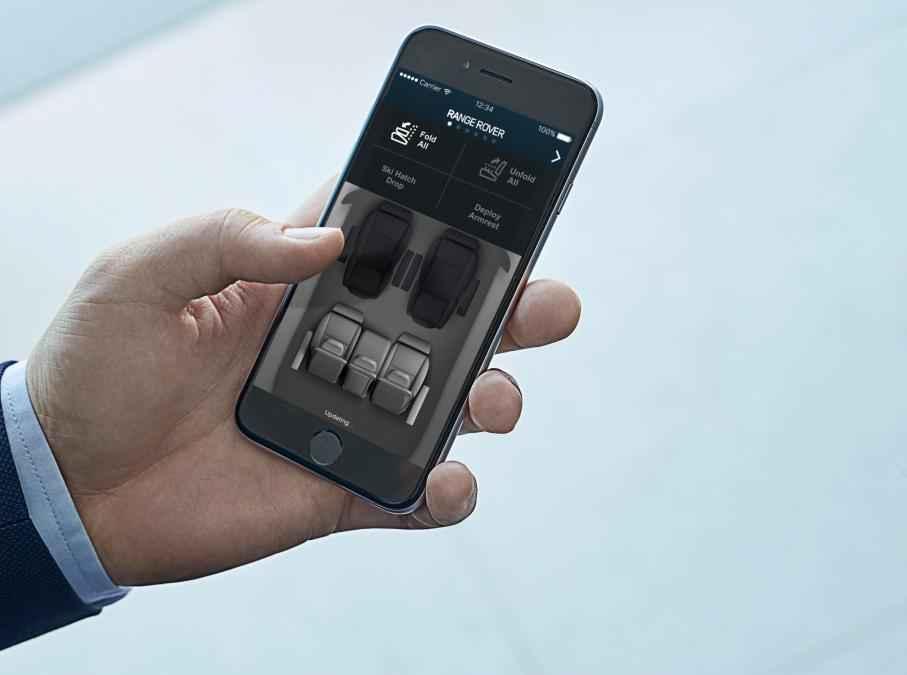 Mobilní aplikace Range Rover