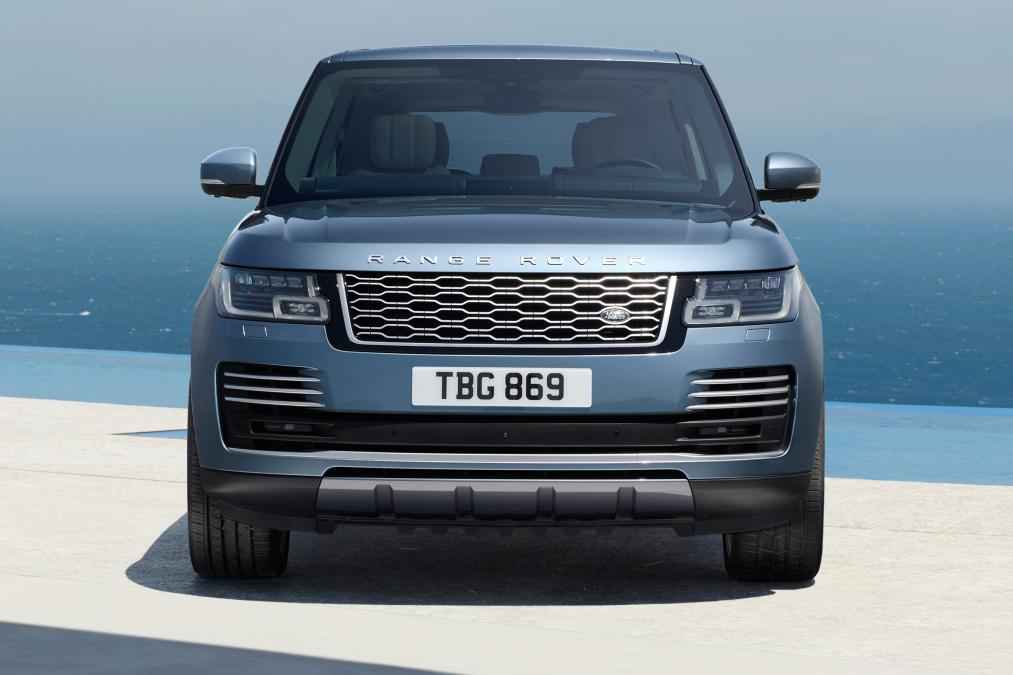 přední maska nového Range Roveru