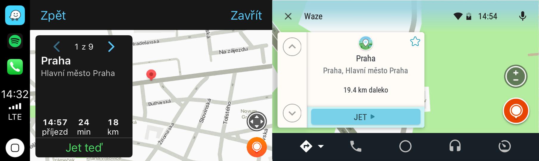 Waze - navigace