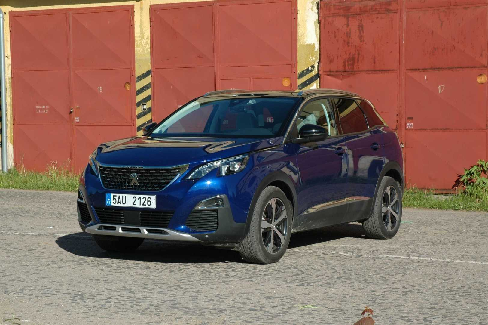 Exteriér nového Peugeotu 3008