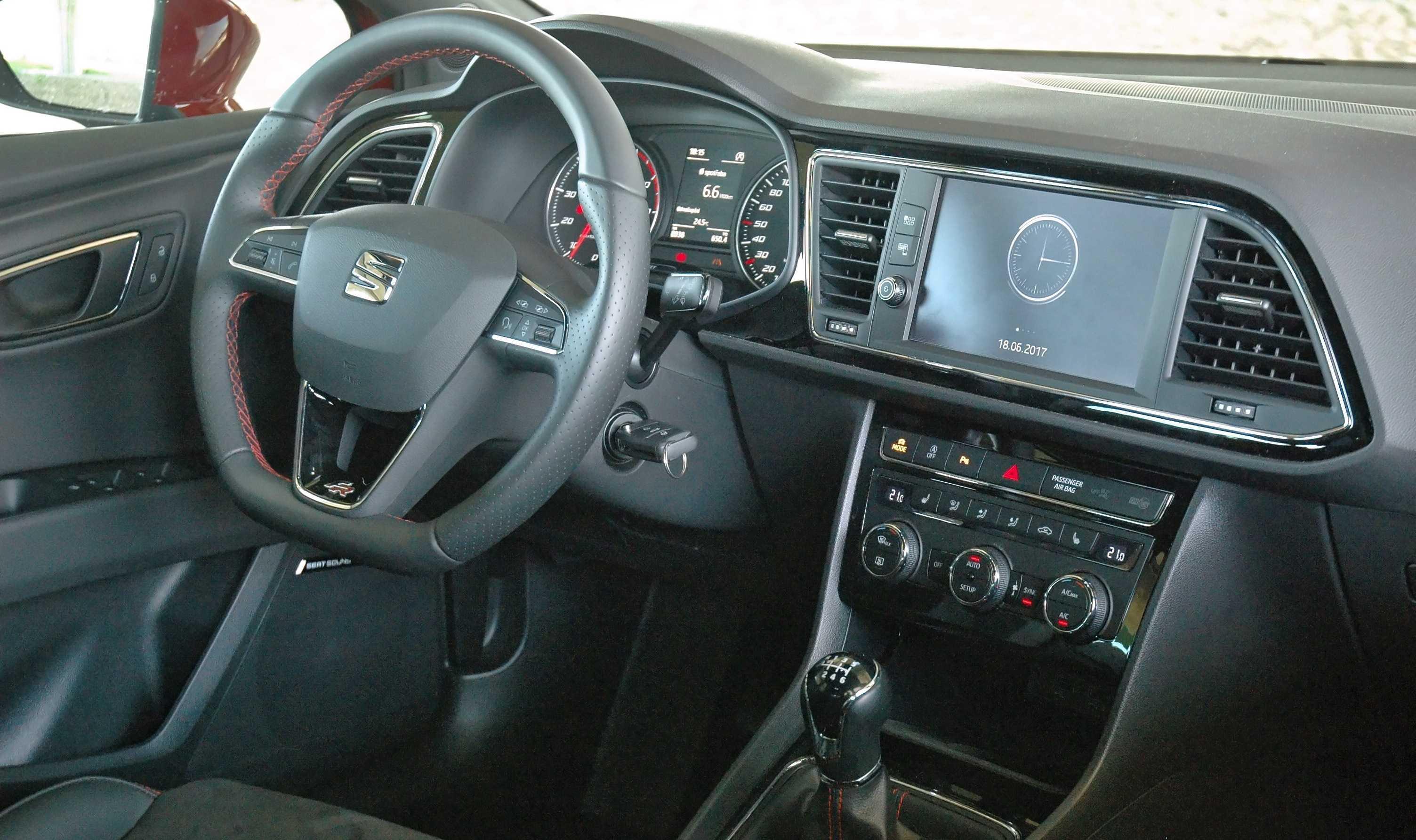 Interiér nového Seat Leon