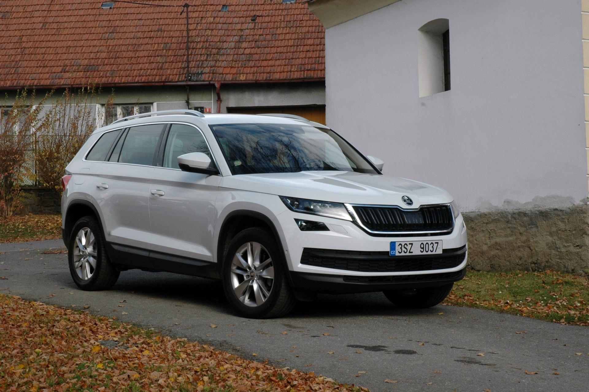 Škoda Kodiaq exteriér