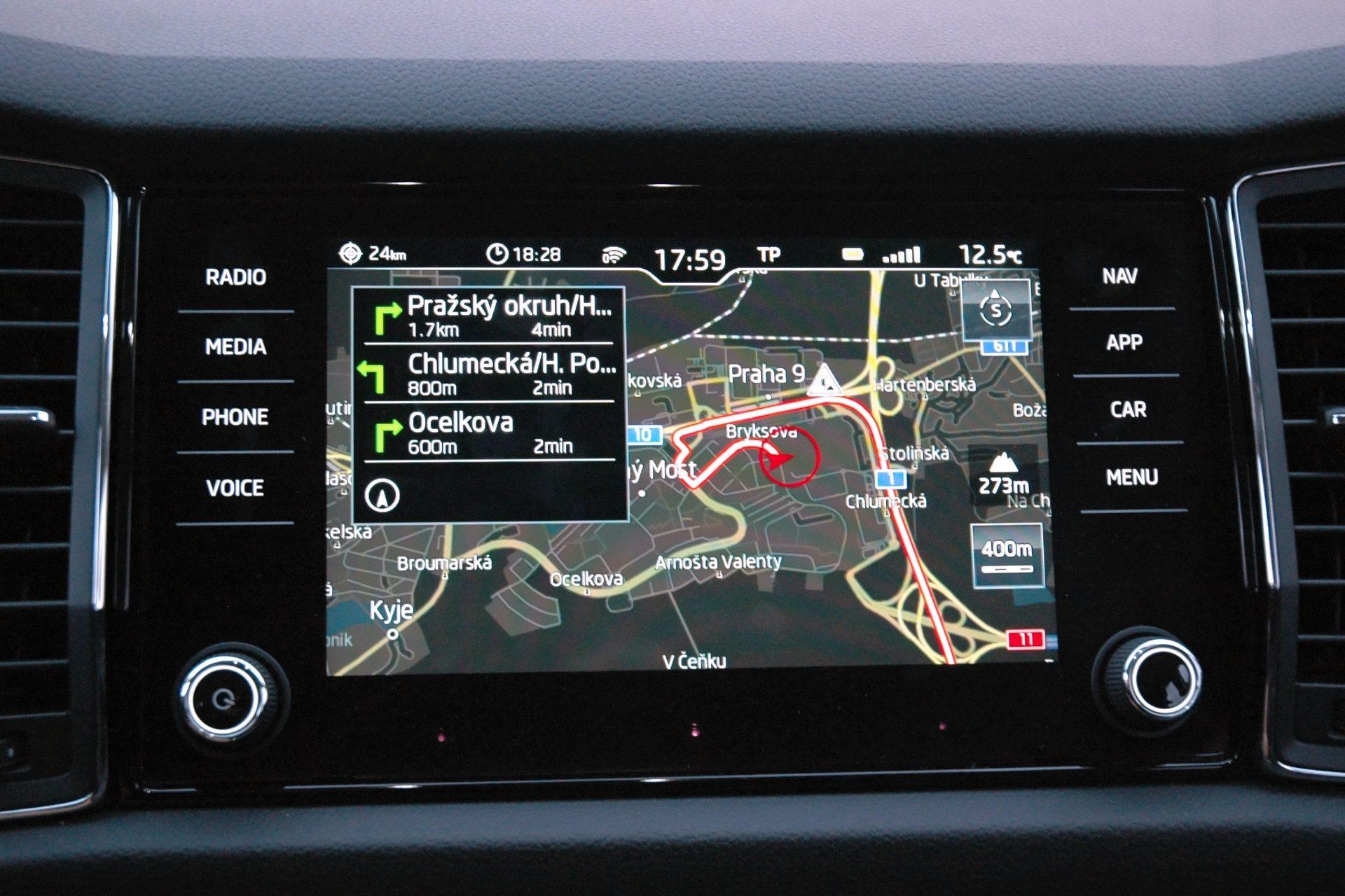 Škoda Kodiaq infotainment